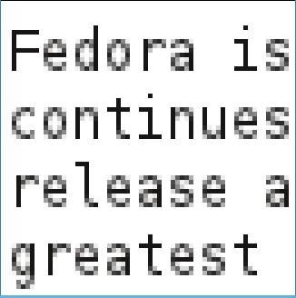 Linux desktops Fedora 17 quick glance